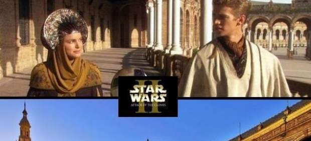 "Plaza de España (Sevilla) – ""Star Wars Episodio II"""