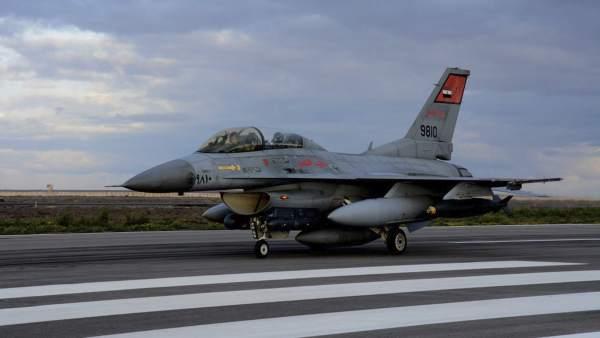F-16 del ejército egipcio
