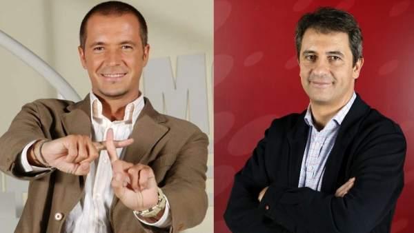 Manu Carreño y Manolo Lama