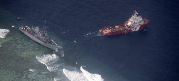 Accidente USS Guardian