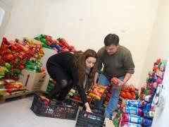 Despensa del banco de alimentos Tetu�n