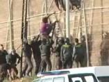 Salto masivo en la valla de Melilla