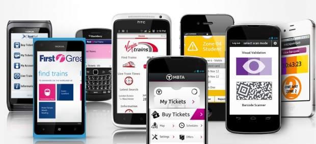 Pagar el transporte público con el teléfono móvil: qué es el 'smartphone ticketing'