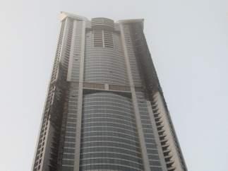 Incendio en un rascacielos
