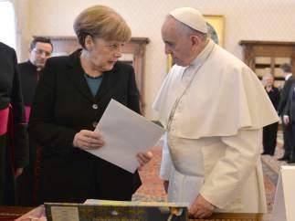 Merkel, con el Papa