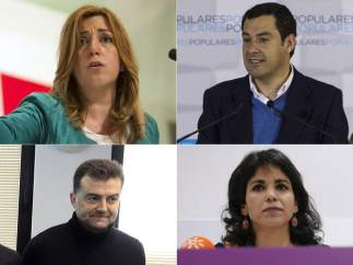 Candidatos andaluces