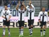Jugadores del Parma