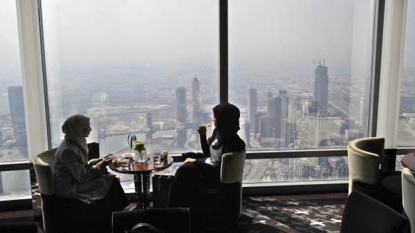 Mujeres en Dubai