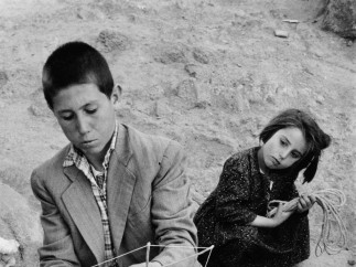 Preparing Kites on a Sunday Morning, Ankara, Turkey, 1955