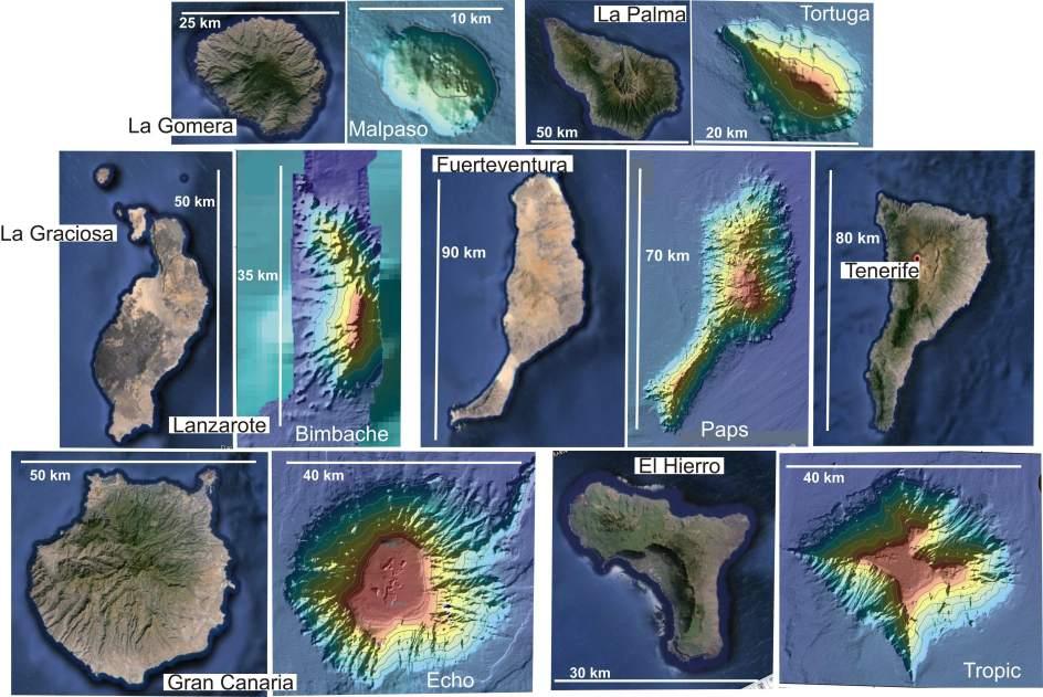 Descubren la atl ntida canaria ocho nuevos montes - Islas canarias con ninos ...
