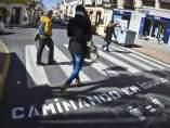 Los nuevos pasos de peatones de Lepe (Huelva).