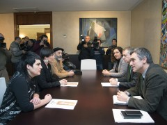 Reunión con la asociación de familiares de presos de ETA
