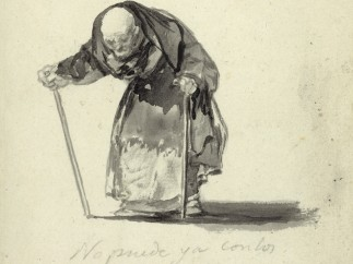 He can no longer at the age of 98, c. 1819-23
