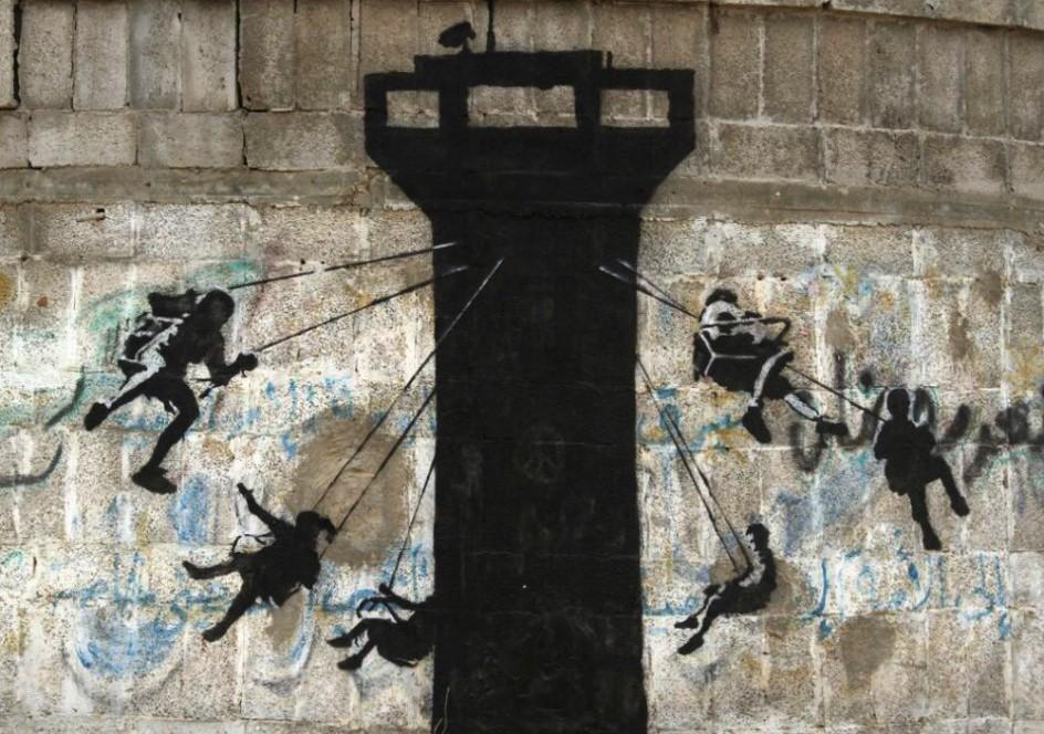 Resultado de imagen para banksy en israel