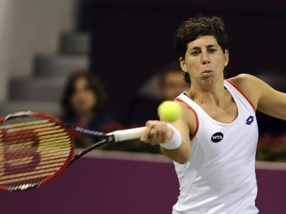 Carla Suárez, en Doha