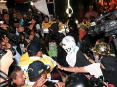 Manifestaciones en M�xico por los desaparecidos.