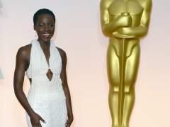Lupita Nyong'o en la gala de los Oscar