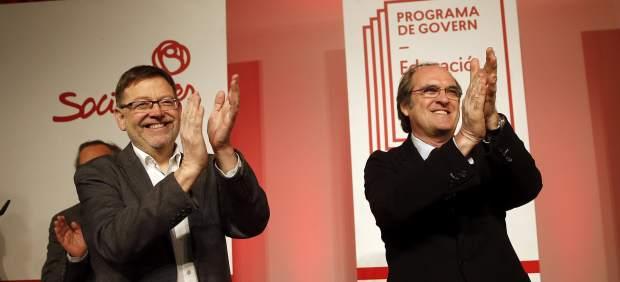 Ángel Gabilondo y Ximo Puig