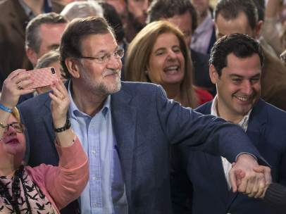 Tercera visita de Rajoy a Andaluc�a en precampa�a