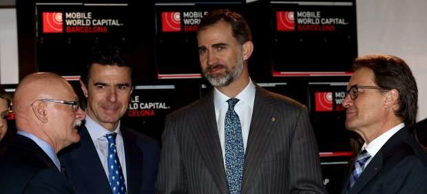 Felipe VI en el MWC