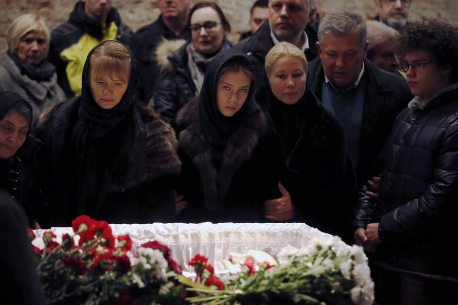Funeral del opositor Boris Nemtsov
