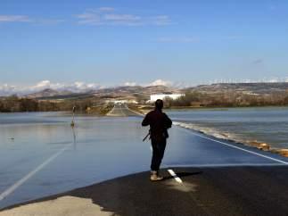 Crecida extraordinaria del Ebro