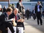 Comer en el Mobile World Congress