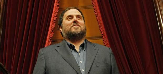 El presidente de ERC, Oriol Junqueras, padre de una niña