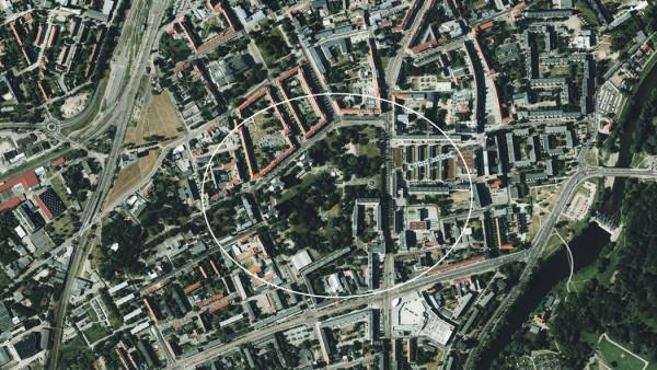 Nuevo Museo de la Bauhaus, emplazamiento