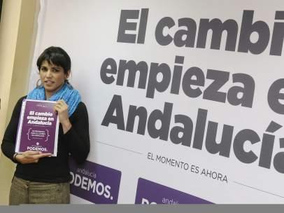 La candidata de Podemos a la presidenica de la Junta de Andaluc�a.