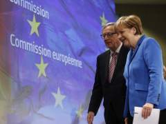 Juncker y Merkel
