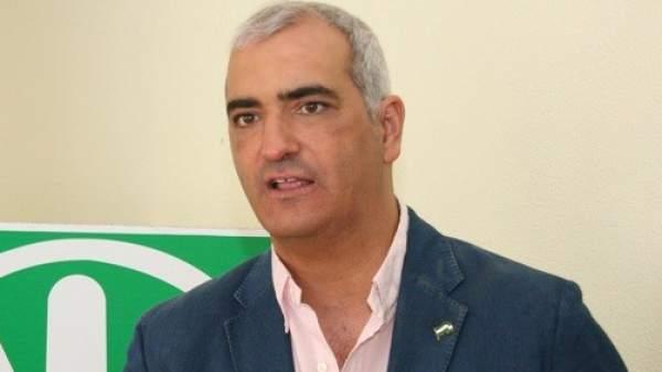 Antonio Jesús Ruiz, candidato andalucista a la Presidencia de la Junta de Andalucía.