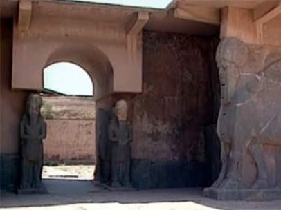 EI destruye la ciudad asiria de Nimrud