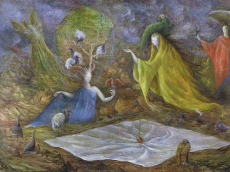 Leonora Carrington - The Pomps of the Subsoil 1947