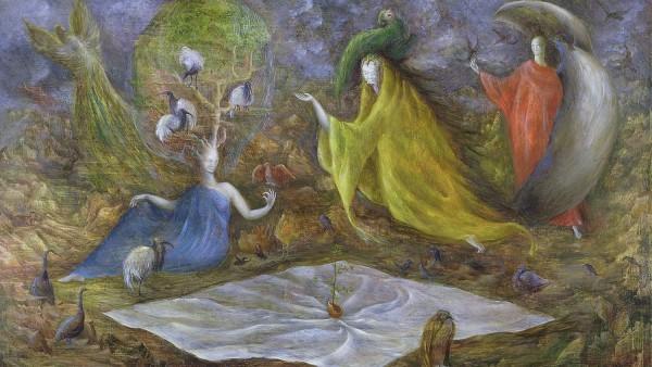 Leonora Carrington - The Pomps of the Subsoil 1947