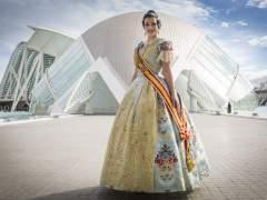 La Fallera Mayor de Valencia, Estefan�a L�pez.