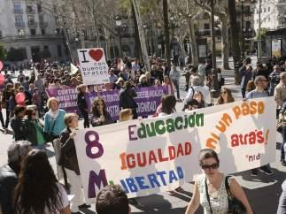 Día de la Mujer en Sevilla