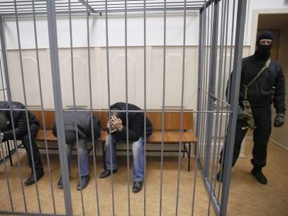 Chechenos detenidos por la muerte de Nemtsov