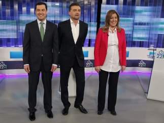 Primer debate de la campaña electoral andaluza