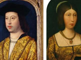 Retratos de los Reyes Católicos