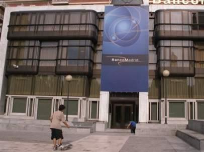 Sede central de Banco de Madrid