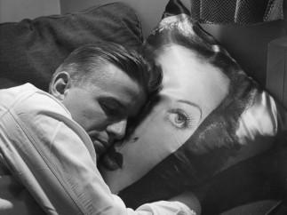 Teenage Boy Resting on Hedy Lamarr Pillow, 1947