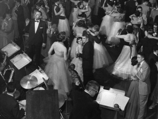 Teenagers at Formal Dance, 1953