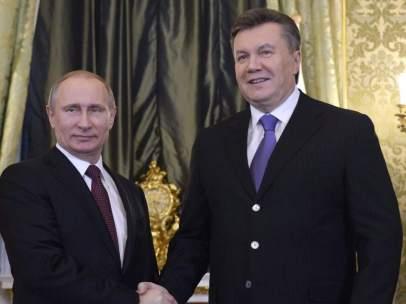 Putin y Yanukovich