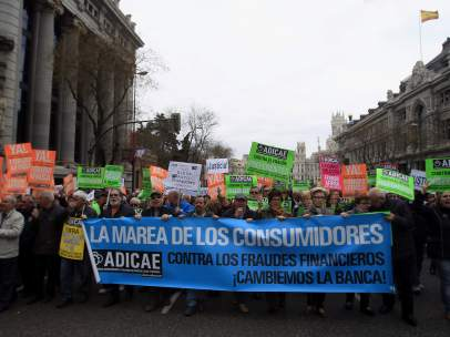 Manifestación de Adicae
