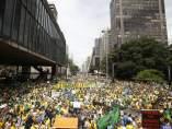 Un millón de personas en Sao Paulo