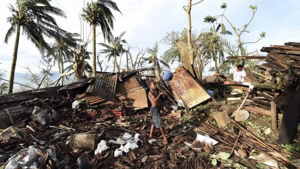 Ciclón Vanuatu
