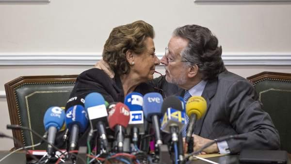 Alfonso Grau y Rita Barberá