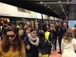 Huelga en el metro