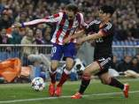 Juanfran en el Atlético - Bayer Leverkusen